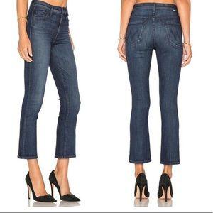 MOTHER Jeans Insider Crop Twilight Magic Crop 27